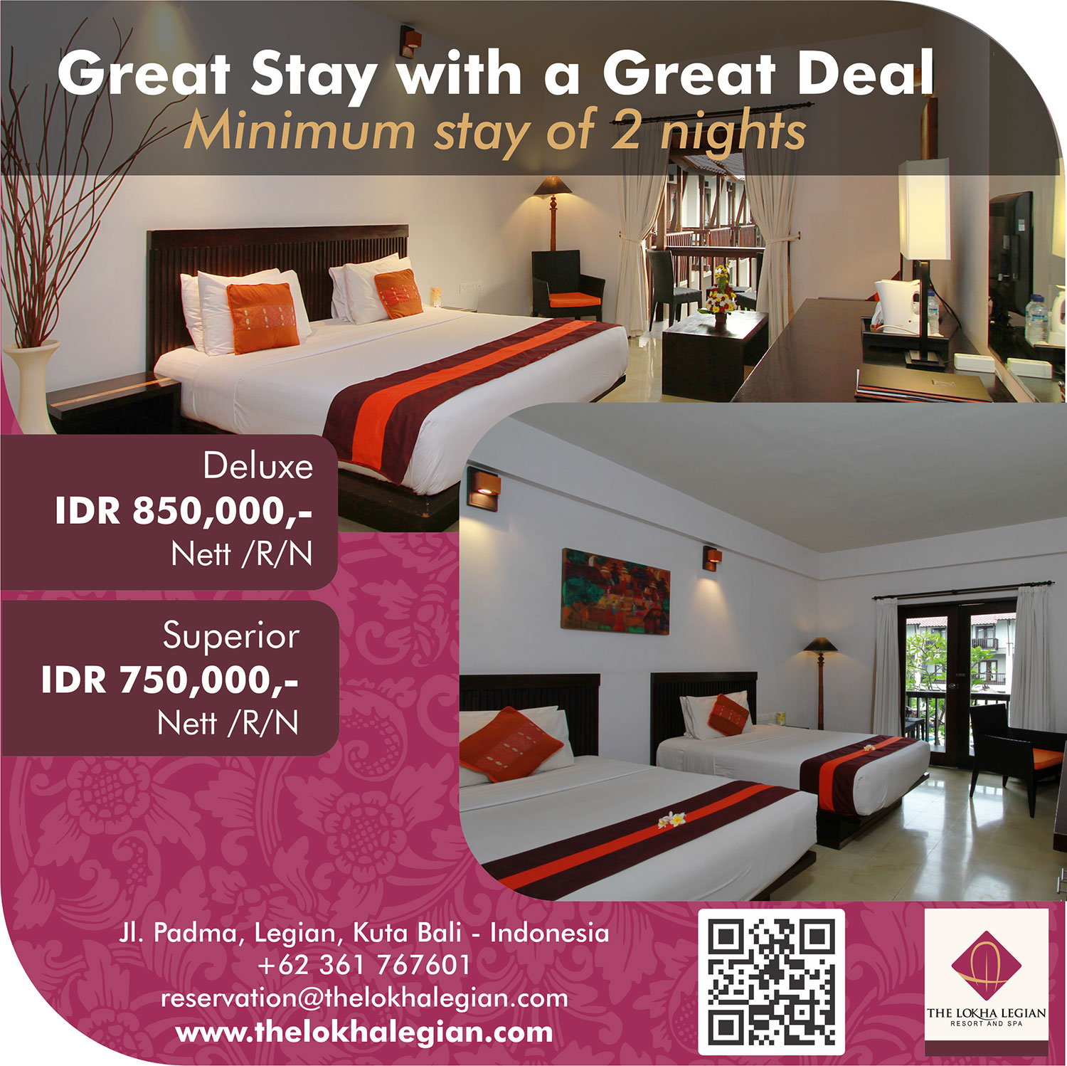Great Stay with a Great Deal
